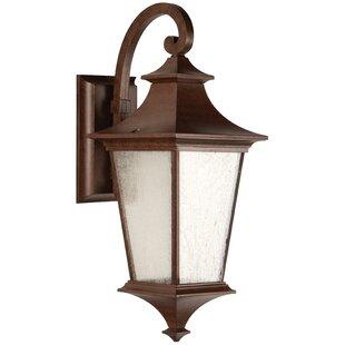 Best Price Chafin 1-Light Outdoor Wall Lantern By Fleur De Lis Living