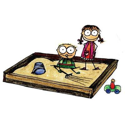 Zoomie Kids Children Sandbox Print
