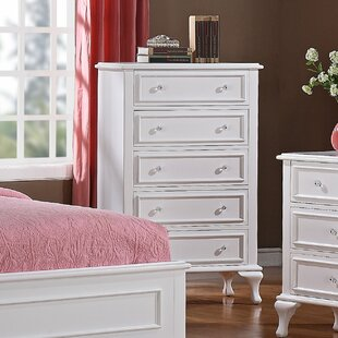 Consuelo 5 Drawer Chest by Harriet Bee