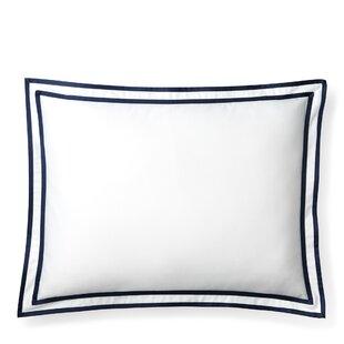 Spencer Border Cotton Lumbar Pillow