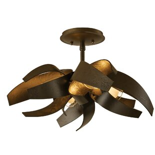 Hubbardton Forge Corona 4-Light Semi Flush Mount