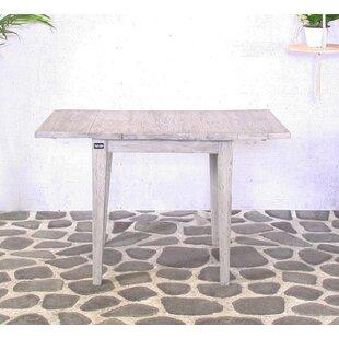 Okeefe Folding Teak Side Table By August Grove