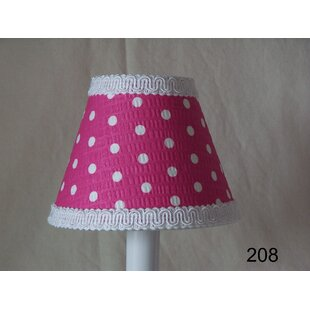 Reviews Delightful Dots 11 Fabric Empire Lamp Shade By Silly Bear Lighting