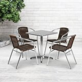 Cathlene Square 5 Piece Dining Set