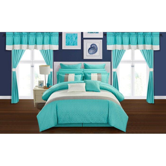 Osier 24 Piece Bed-In-a-Bag Comforter Set
