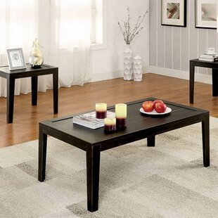 Nena 3 Piece Coffee Table Set by Winston Porter