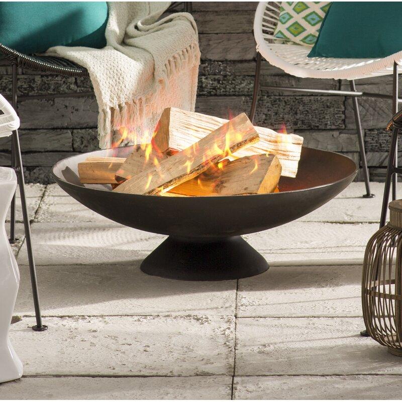 Howland Cast Iron Wood Burning Fire Pit Amp Reviews Joss