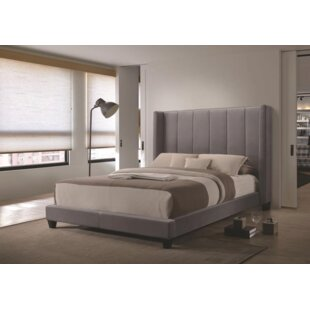 Brayden Studio Cyr Upholstered Panel Bed