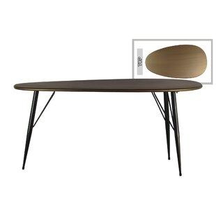 Zavala Metal Oval End Table (Set of 4)