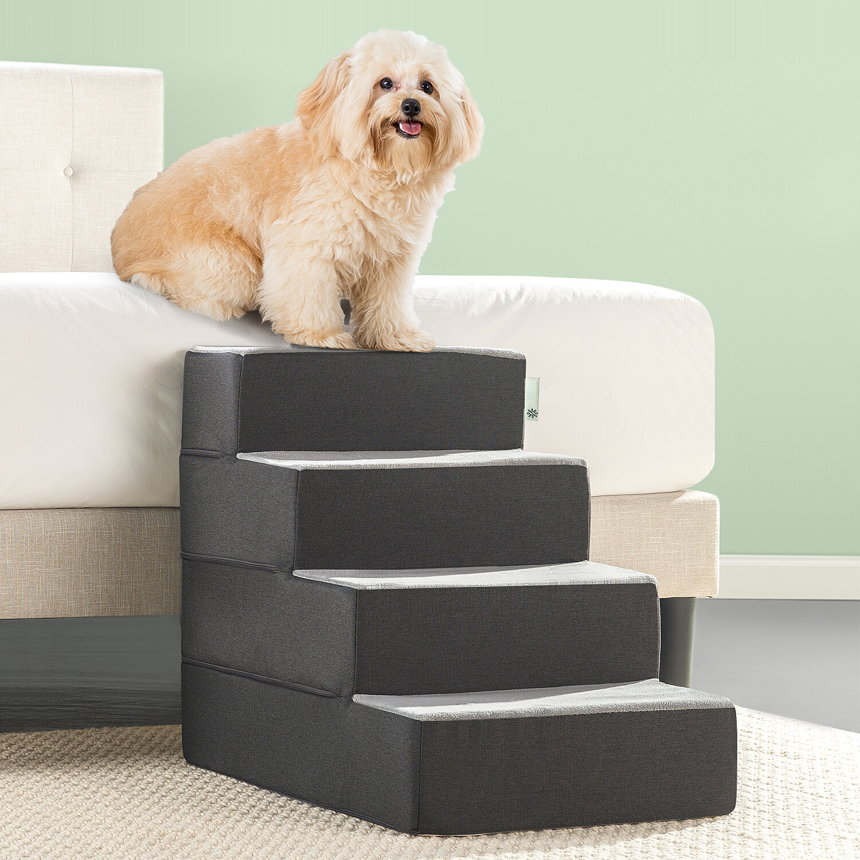 Bon Zinus Easy 4 Step Pet Stair U0026 Reviews | Wayfair