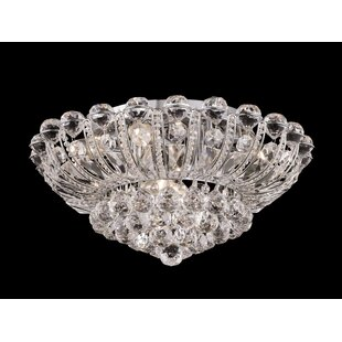 Rosdorf Park Misael 8-Light Flush Mount