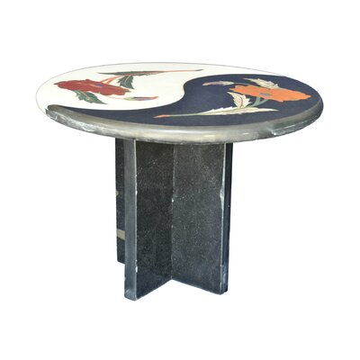 Alyn Stone/Concrete Side Table by The Silver Teak Spacial Price