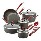 Rachael Ray 12 Piece Hard Anodized Aluminum Non Stick Cookware Set byRachael Ray