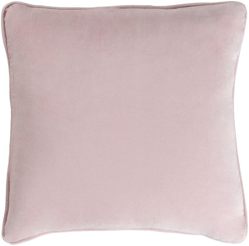 Baylie Cotton Velvet Throw Pillow
