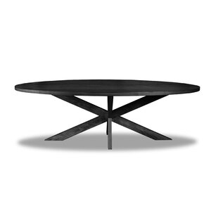 Macedo Solid Wood Dining Table by Ivy Bronx Top Reviews