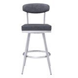 Kendleton 30 Swivel Bar Stool by Orren Ellis