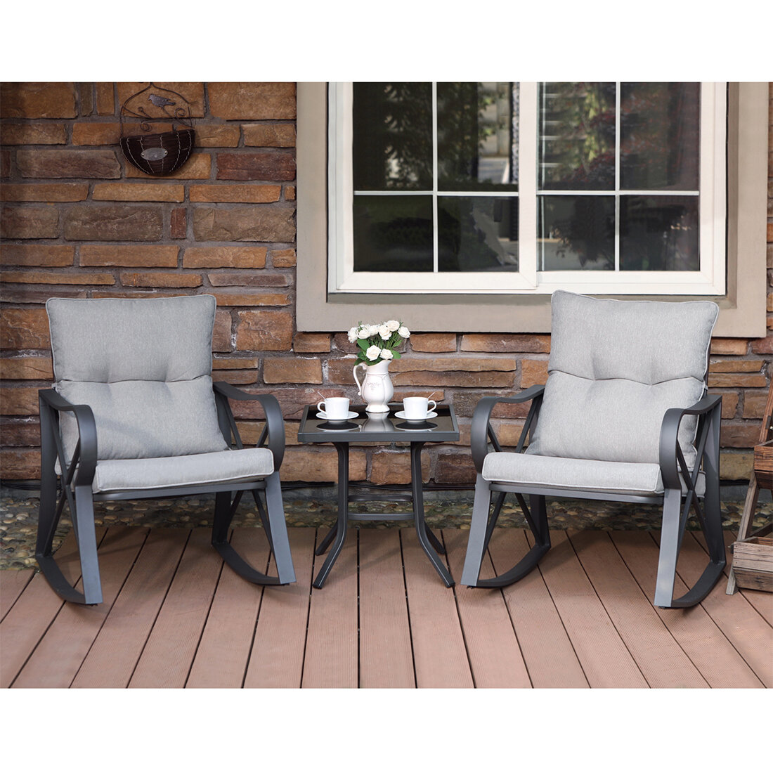 3 Piece Outdoor Patio Furniture