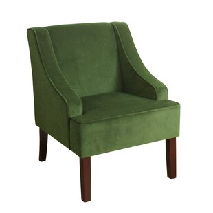 Laurel Foundry Modern Farmhouse Antoinette Velvet Swoop Armchair