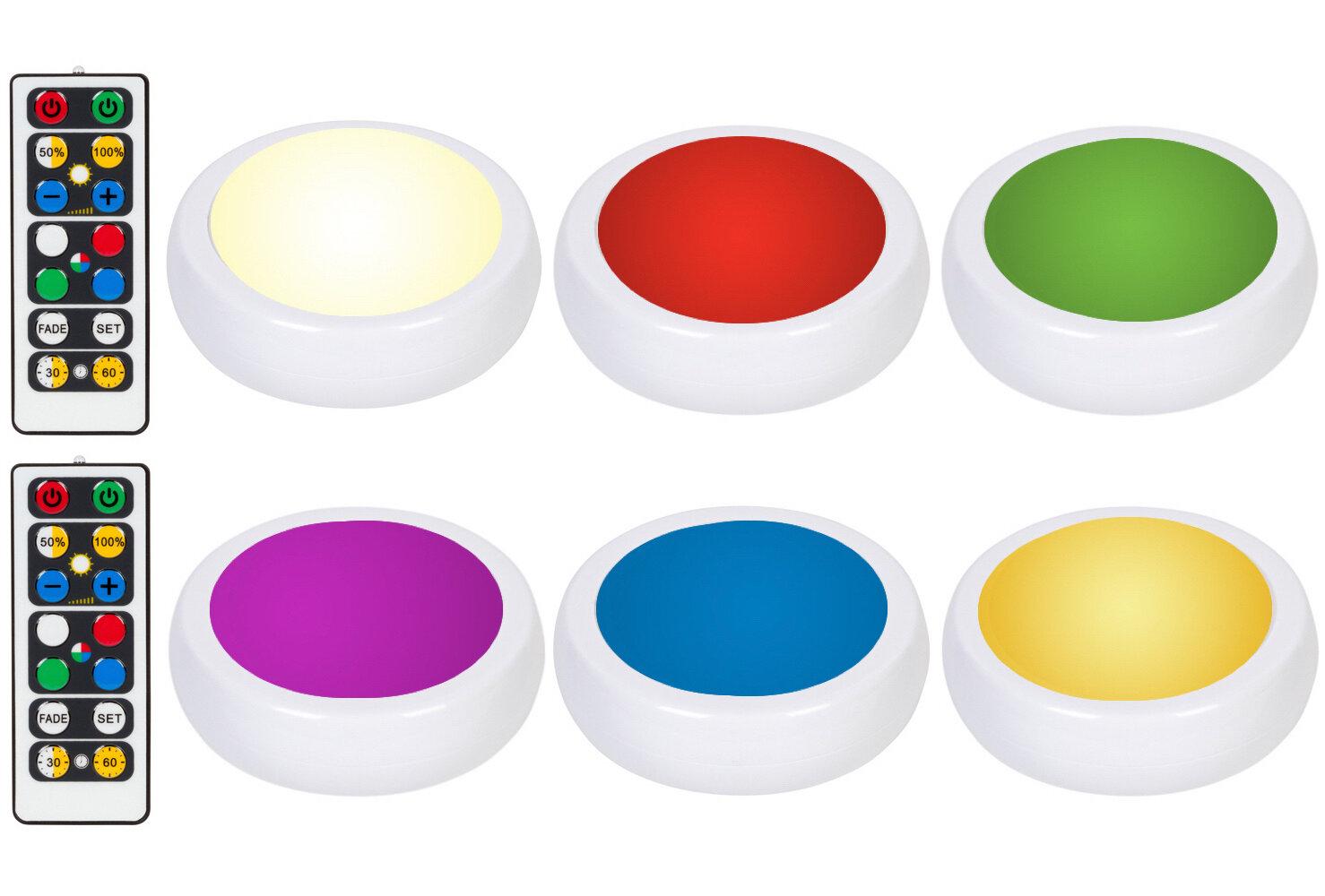 Brilliant Evolution Wireless 6 Light Led Under Cabinet Puck Light Reviews Wayfair