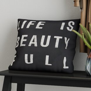 Clemons Typography 100% Cotton Pillow Cover