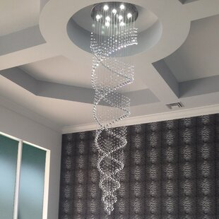 Sefield 9-Light Chandelier by Everly Quinn