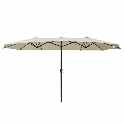 15 Double-Sided Market Umbrella by Freeport Park New Design