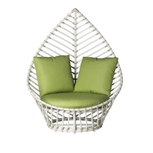 David Francis Furniture Palm Patio Chair with Cushions