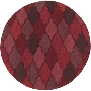 Galya Red Area Rug