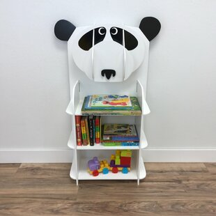 Hibbler Playful Panda Toddler 38 Bookcase by Zoomie Kids