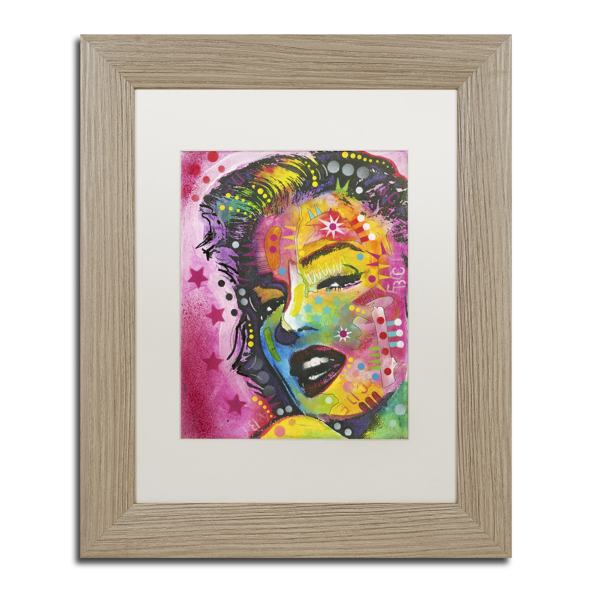 Trademark Art 17 Framed Painting Print On Canvas Wayfair
