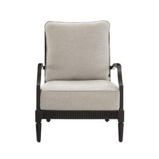 Canora Grey Euston Patio Chair with Cushion (Set of 2)