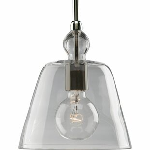 Gracie Oaks Yeah 1-Light Bell Pendant