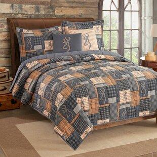 Buckmark Cotton Quilt Set
