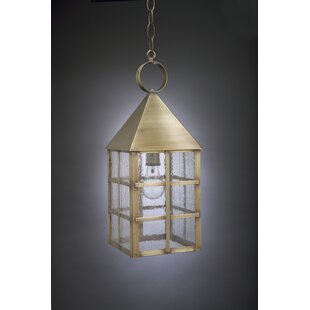 Northeast Lantern York 1-Light Outdoor Hanging Lantern