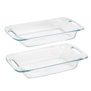 Easy Grab Rectangular 2 Piece Baking Dish Set