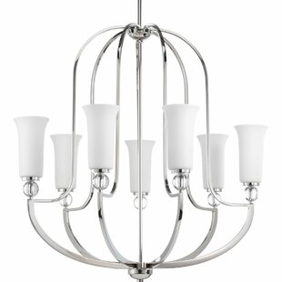 Macced 7-Light Shaded Chandelier by Red Barrel Studio