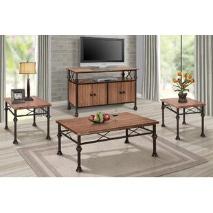 Alcott Hill Hickmon 4 Piece Coffee Table Set