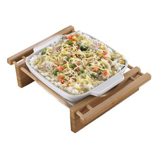 Square Grand Buffet Bakeware Dish with Cradle