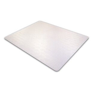 Cleartex Medium Pile Carpet Straight Chair Mat by Floortex