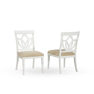 Panama Jack Home Isle of Palms Solid Wood Dining Chair (Set of 2)