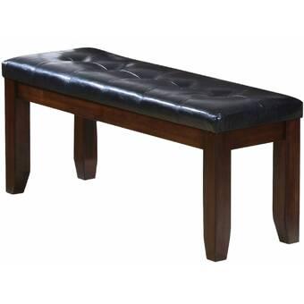Red Barrel Studio Leddy Faux Leather Upholstered Bench Wayfair