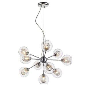 George Oliver Dayton 10-Light Sputnik Chandelier
