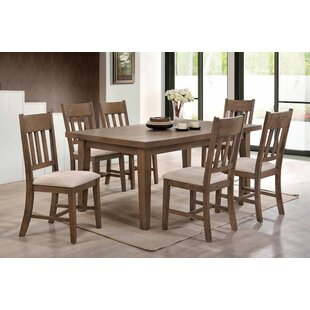 Seymour 7 Piece Dining Set Loon Peak