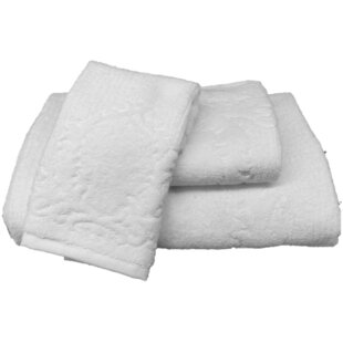 Schoonmaker 3 Piece 100% Cotton Towel Set
