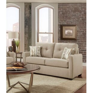 Shop Caster Tufted Loveseat by Ebern Designs