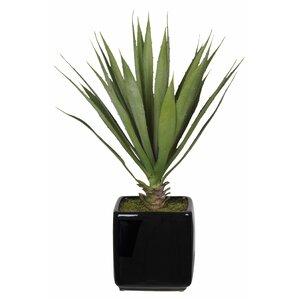 Lovely Artificial Desk Top Plant In Vase