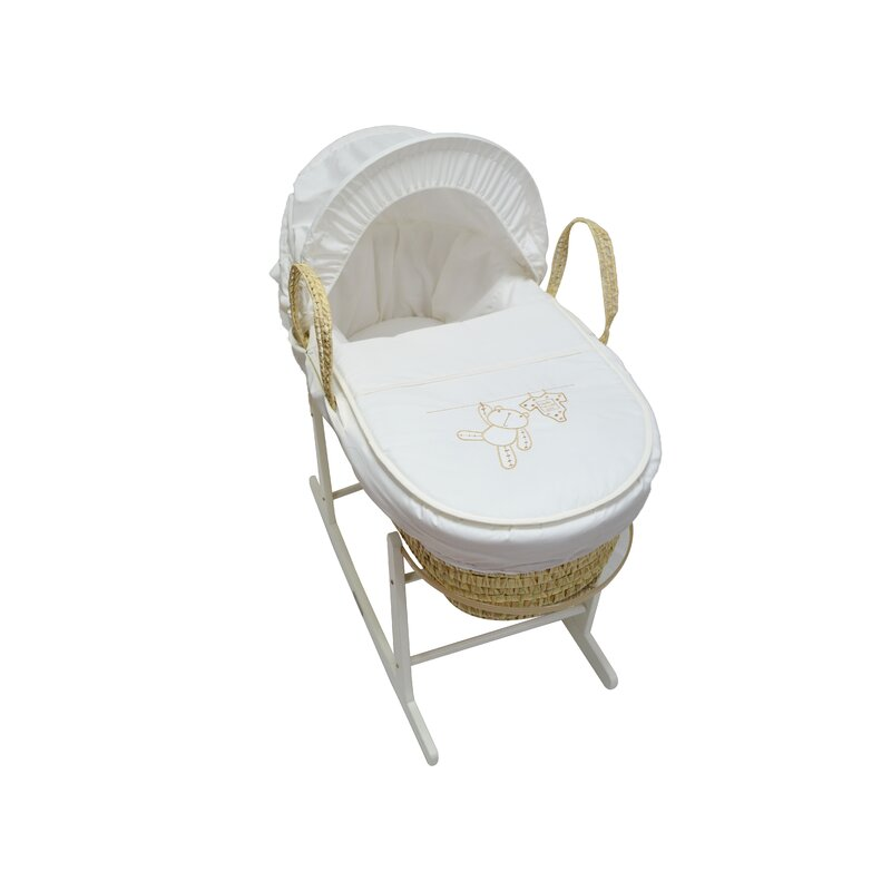 Luxury Quilted Fabric Replacement Moses Basket Padded Liner For Added Comfort Nursery Furniture