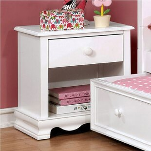 Morethampstead Kid 1 Drawer Nightstand by Harriet Bee