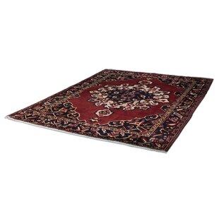 Read Reviews Persian Baktiak Hand Woven Red/Black Area Rug BySarreid Ltd