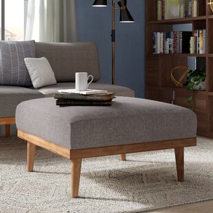 Belote Square Ottoman by L..